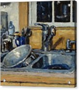 The Kitchen Sink Acrylic Print by Thor Wickstrom