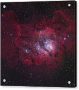 The Lagoon Nebula Acrylic Print by Robert Gendler