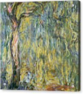 The Large Willow At Giverny Acrylic Print by Claude Monet