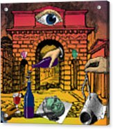 The Last Days Of Herculaneum Acrylic Print by Eric Edelman