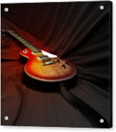 The Les Paul Acrylic Print by Steven  Digman
