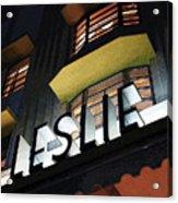The Leslie Acrylic Print by David April