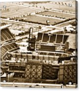 The Linc - Aerial View Acrylic Print by Bill Cannon