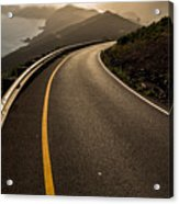 The Long And Winding Road Acrylic Print by John Daly