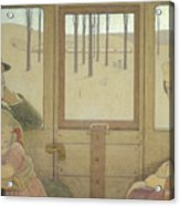 The Long Journey Acrylic Print by Frederick Cayley Robinson