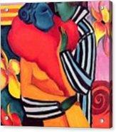 The Lovers Acrylic Print by Sabina Nedelcheva Williams