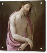 The Man Of Sorrows Acrylic Print by Guido Reni