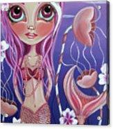 The Mermaid's Garden Acrylic Print by Jaz Higgins