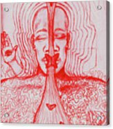 The Minds Eye Acrylic Print by Elizabeth Hoskinson