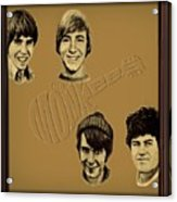 The Monkees  Acrylic Print by Movie Poster Prints