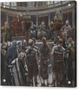 The Morning Judgement Acrylic Print by Tissot