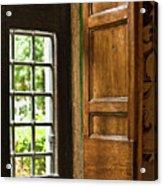 The Open Window Acrylic Print by Lynn Andrews