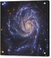 The Pinwheel Galaxy, Also Known As Ngc Acrylic Print by R Jay GaBany