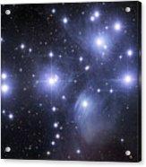 The Pleiades Acrylic Print by Robert Gendler