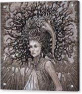 The Ravenous Pregnancy Acrylic Print by Ethan Harris