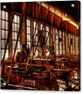 The Red Barn Of The Boeing Company Iv Acrylic Print by David Patterson