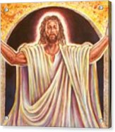 The Resurrection And The Life Acrylic Print by Raymond Walker