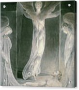 The Resurrection Acrylic Print by William Blake