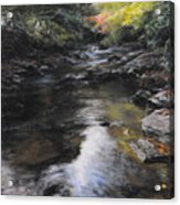 The River At Lady Bagots Acrylic Print by Harry Robertson