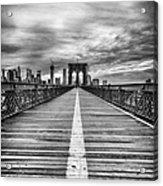 The Road To Tomorrow Acrylic Print by John Farnan