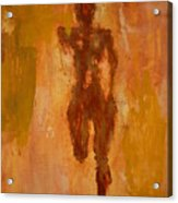 The Runner- Life's Journey  Acrylic Print by Vincent Avila