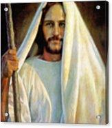 The Savior Acrylic Print by Greg Olsen