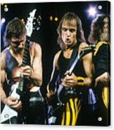 The Scorpions Acrylic Print by Rich Fuscia