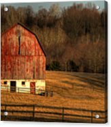 The Simple Life Acrylic Print by Lois Bryan