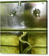 The Sink Acrylic Print by Elizabeth Hoskinson