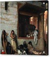 The Slave Market Acrylic Print by Jean Leon Gerome