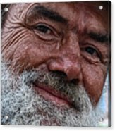The Smile Of Life Acrylic Print by Erhan OZBIYIK