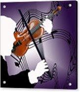 The Soloist Acrylic Print by Steve Karol
