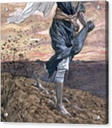 The Sower Acrylic Print by Tissot