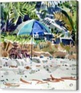 The Sun Bather Acrylic Print by Donald Maier