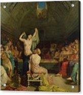 The Tepidarium Acrylic Print by Theodore Chasseriau