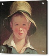 The Torn Hat Acrylic Print by Thomas Sully