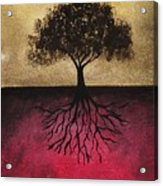 The Tree Of Life Acrylic Print by Edwin Alverio