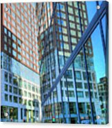 The Urban Maze Acrylic Print by JC Findley