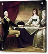 The Washington Family Acrylic Print by Granger