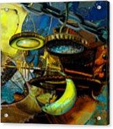 The Wheelwork Of Antikythera  Acrylic Print by Anne Weirich
