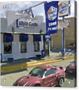 The White Castle Acrylic Print by Russell Pierce