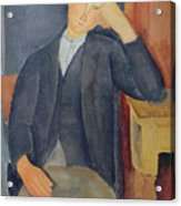 The Young Apprentice Acrylic Print by Amedeo Modigliani