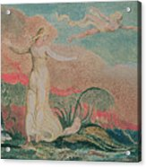 Thel In The Vale Of Har Acrylic Print by William Blake
