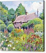 Thomas Hardy House Acrylic Print by David Lloyd Glover