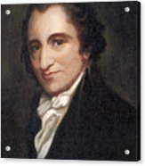 Thomas Paine, American Founding Father Acrylic Print by Photo Researchers