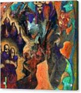 Three Dwarves Acrylic Print by David Matthews