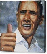Thumbs Up Acrylic Print by Shirley Braithwaite Hunt