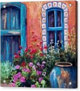 Tiled Window Acrylic Print by Candy Mayer