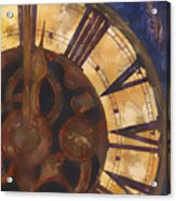 Time Askew Acrylic Print by Barb Pearson
