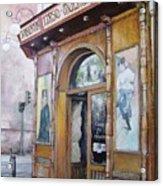Tirso De Molina Old Tavern Acrylic Print by Tomas Castano